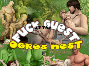 Fuck Guest at the OGRES NEST !! Best 3D monster sex !