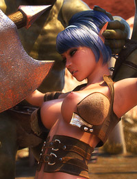 3D brutal beasts are giving this sensual angel and nice group sex lesson