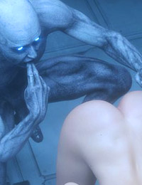 POV 3D sex between Egyptian brunette and horny as hell monster