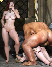 Big monsters with giant cocks fucking astounding busty temptresses.