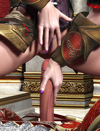 Nubile hot elfins adore taking big fucking tools of brutal monsters in their twats and ass holes